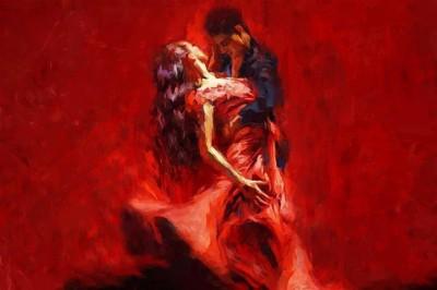 Gorący taniec