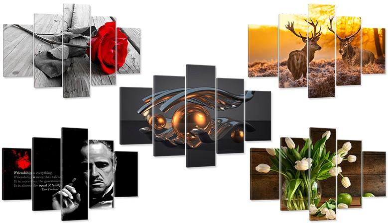 Kliknij i przejdź do galerii z gotowymi tryptykami. Wybierz wzór dla siebie.