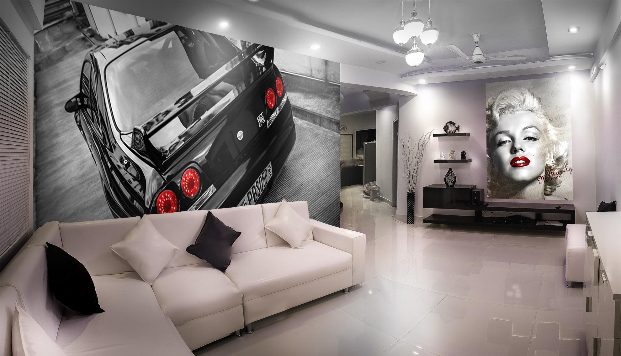 Fototapeta Nissan GTR